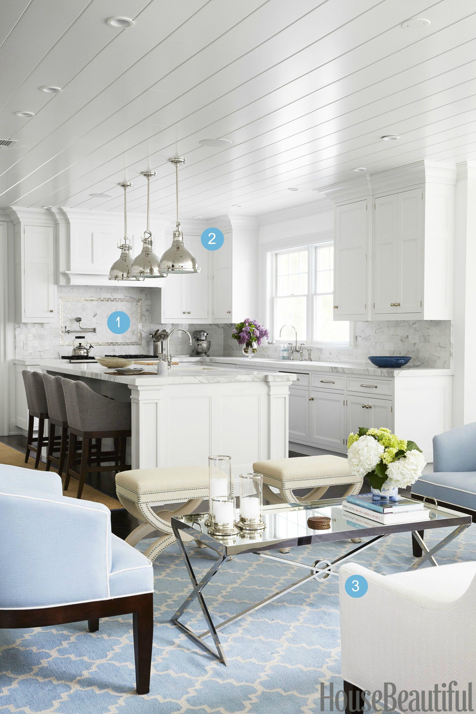 Make An Open Kitchen More Cozy Design An Open Kitchen