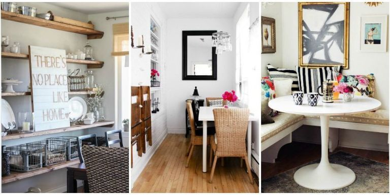 Small Dining Room Ideas - Design Tricks for Making the ...