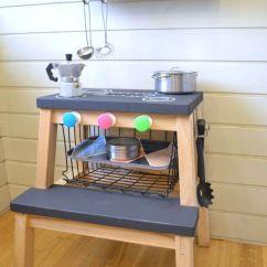 Ikea Kitchen Step Stool Copper Decor Bekvam Hacks Courtesy Of Mommo Design A Play