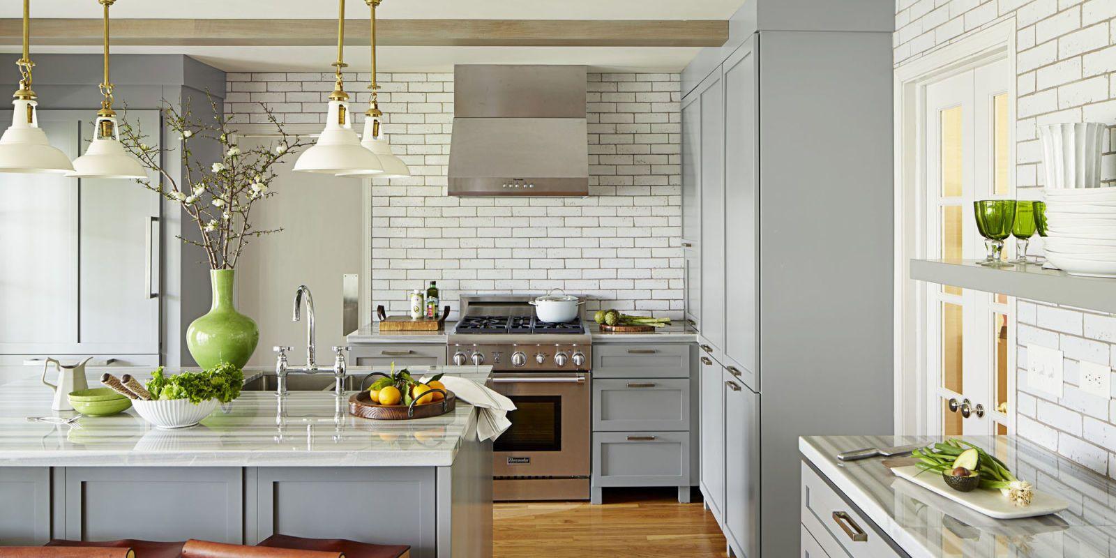 40 Best Kitchen Countertops Design Ideas   Types of ...