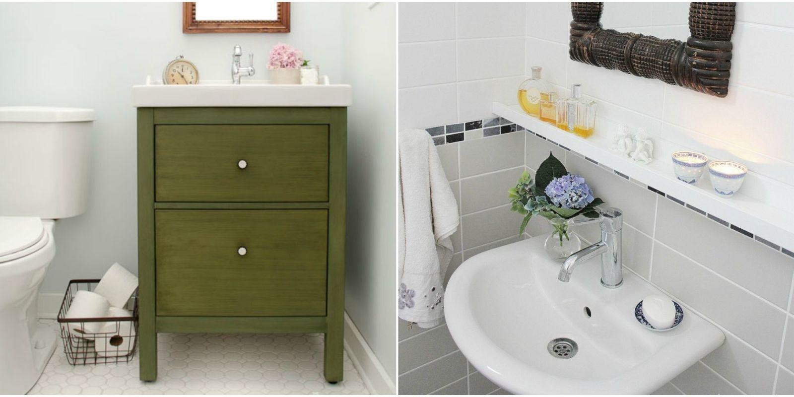 11 Ikea Bathroom Hacks  New Uses For Ikea Items In The