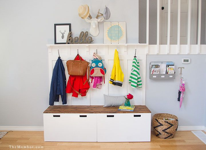 power chair accessories bags hanging design 12 ikea hacks for your entryway - & mudroom storage ideas