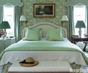 pictures of green bedrooms