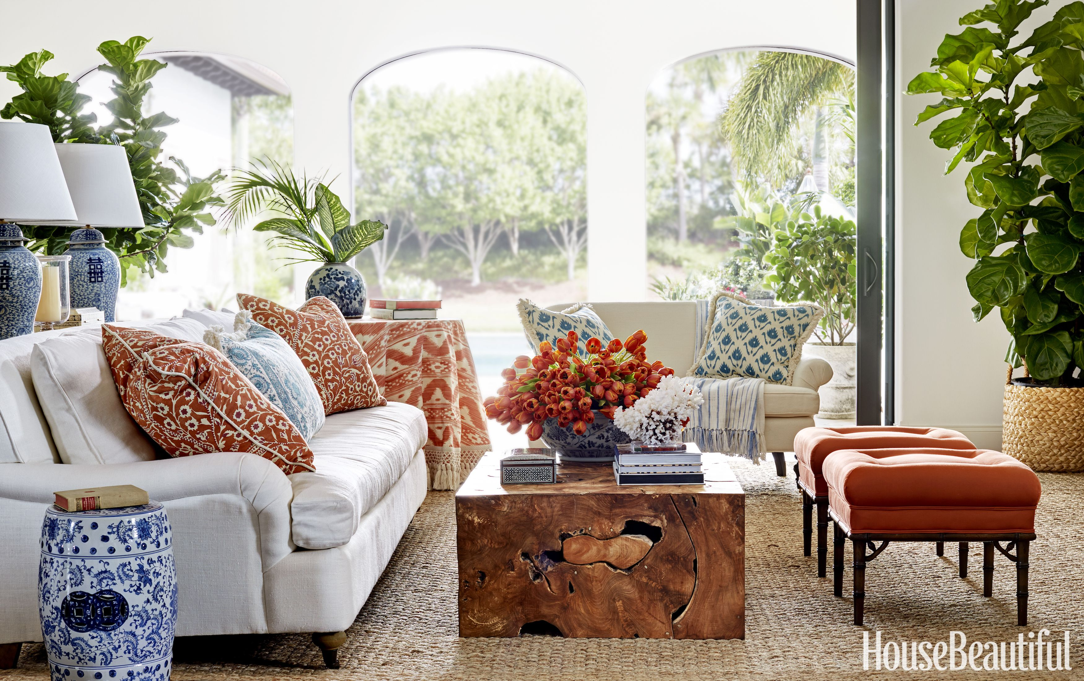 house beautiful living room ideas how to interior design a small 14 summer pictures of houses that are prettier than hotel rooms