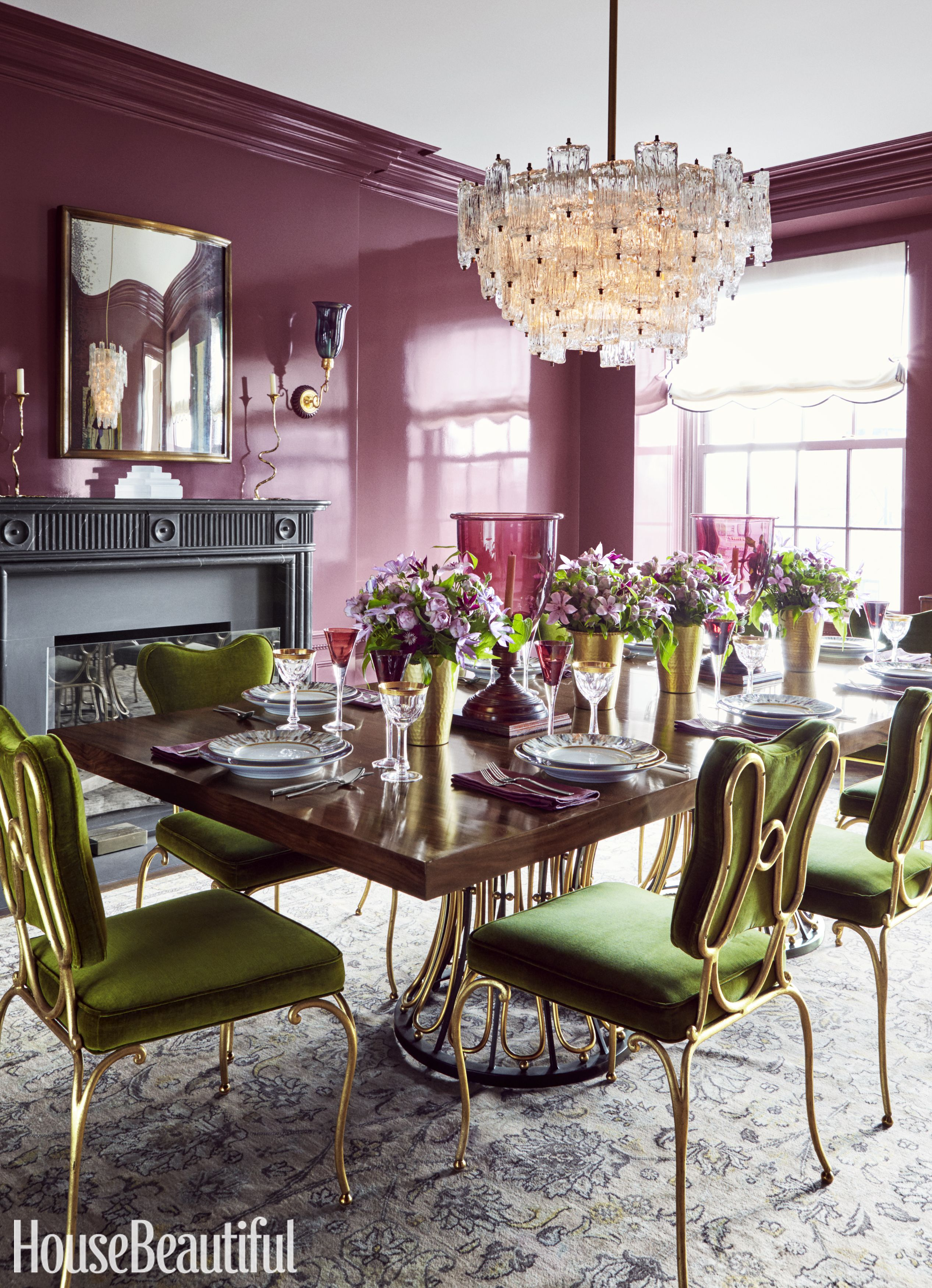 lavender lilac and violet decorating ideas