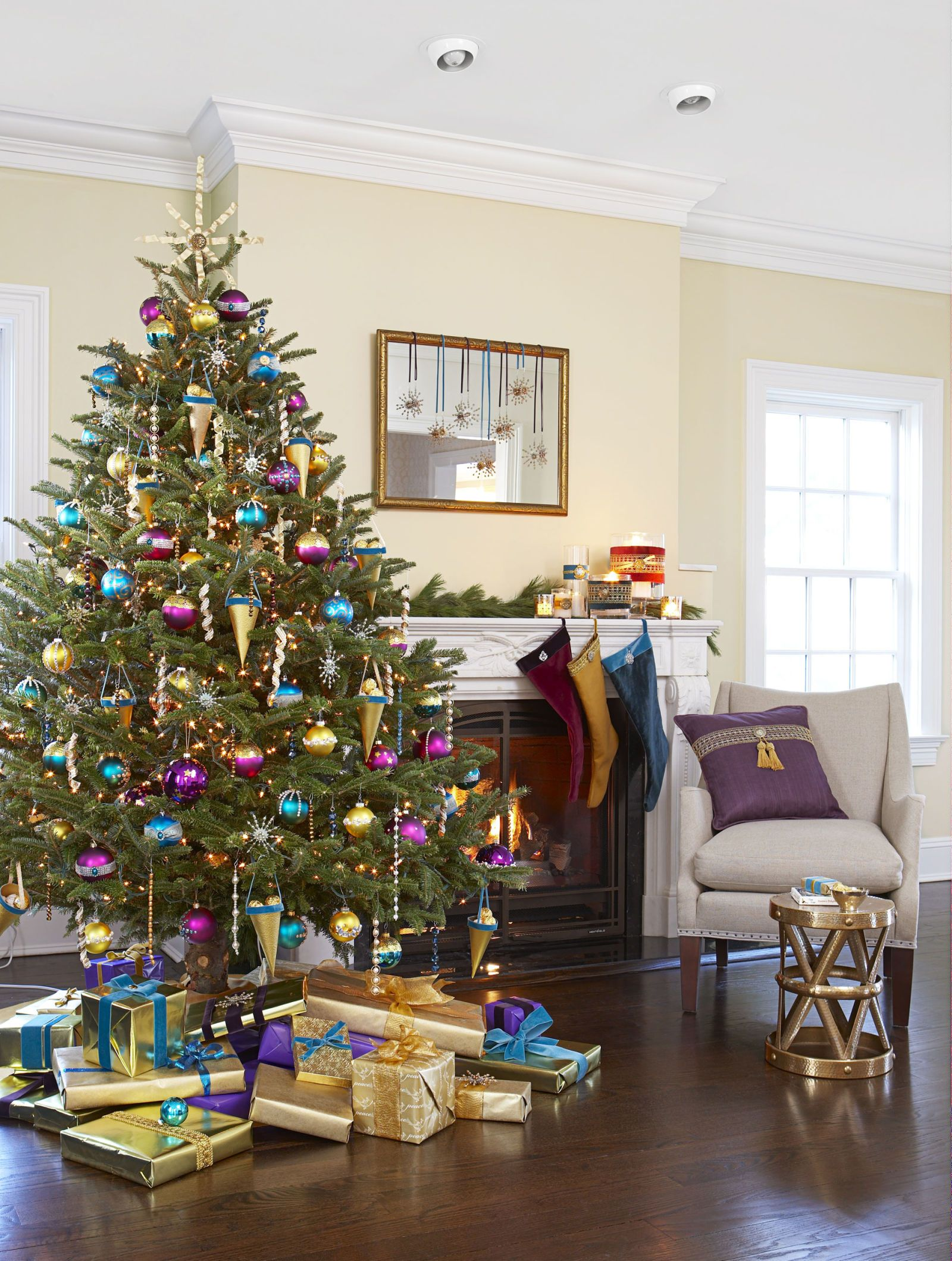 decorate small living room for christmas murphy bed 50 tree decoration ideas pictures of beautiful trees