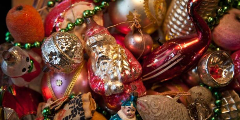 1940s Christmas Ornaments