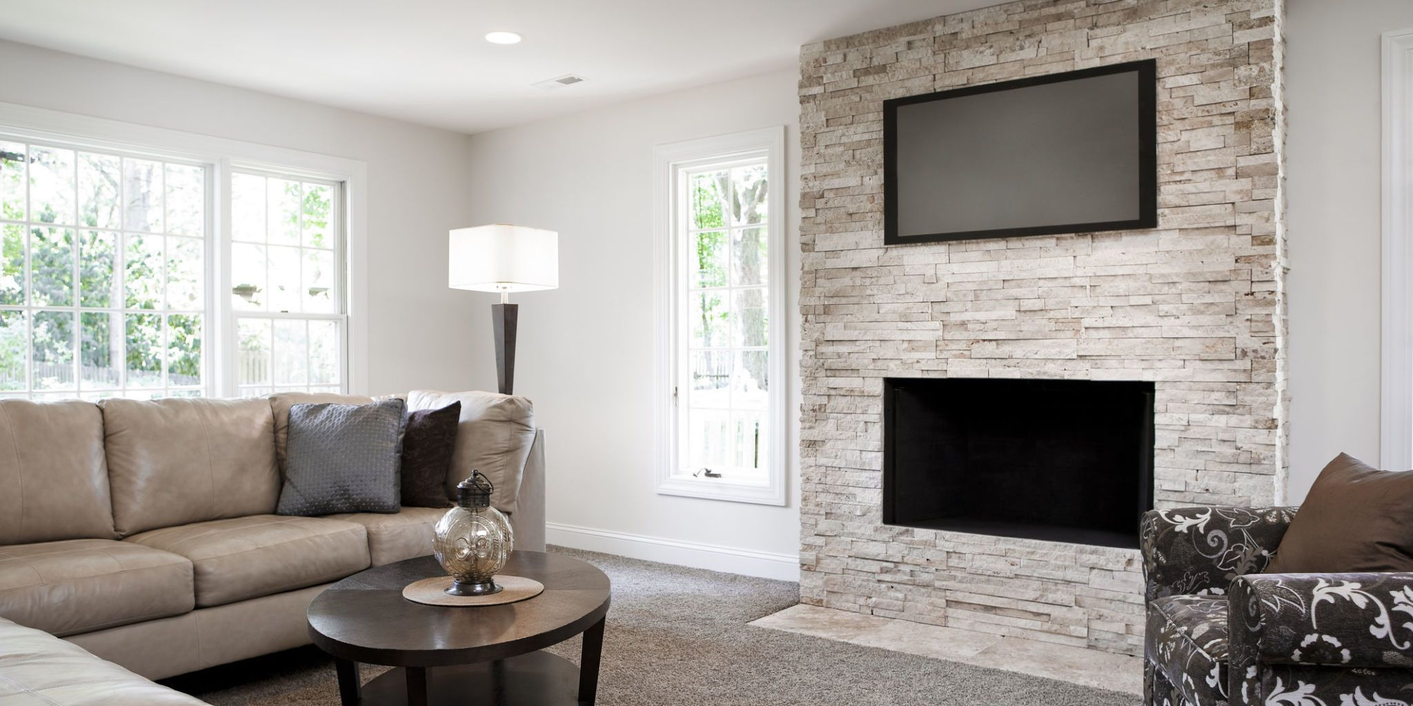 small living room fireplace tv wall paint colors 2016 stop hanging your television over
