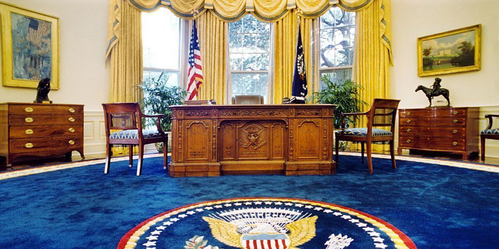 President Donald Trump Has Started Redecorating The Oval