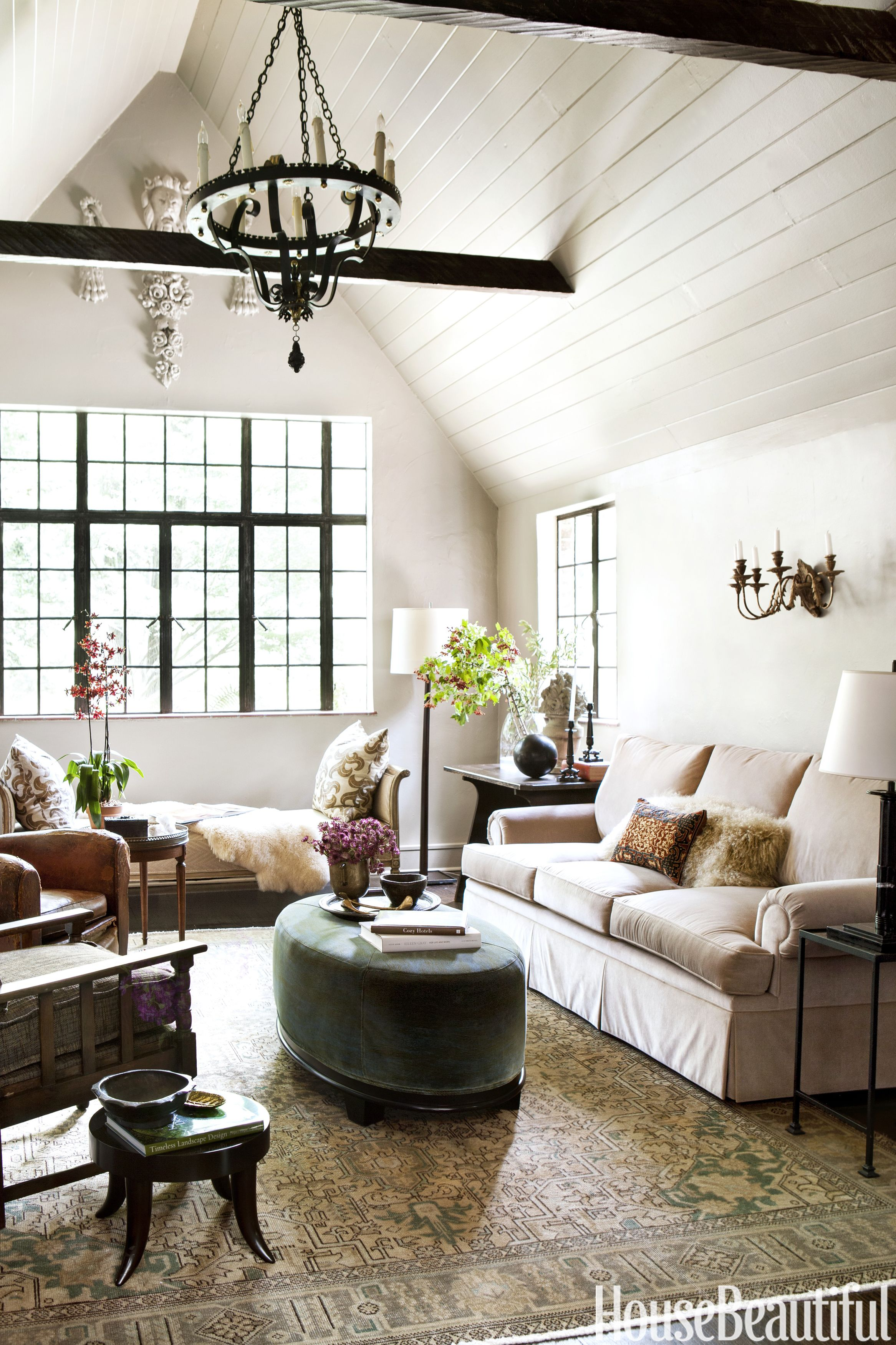 ideas how to decorate a living room rustic wall paint colors 60 best decorating designs housebeautiful com