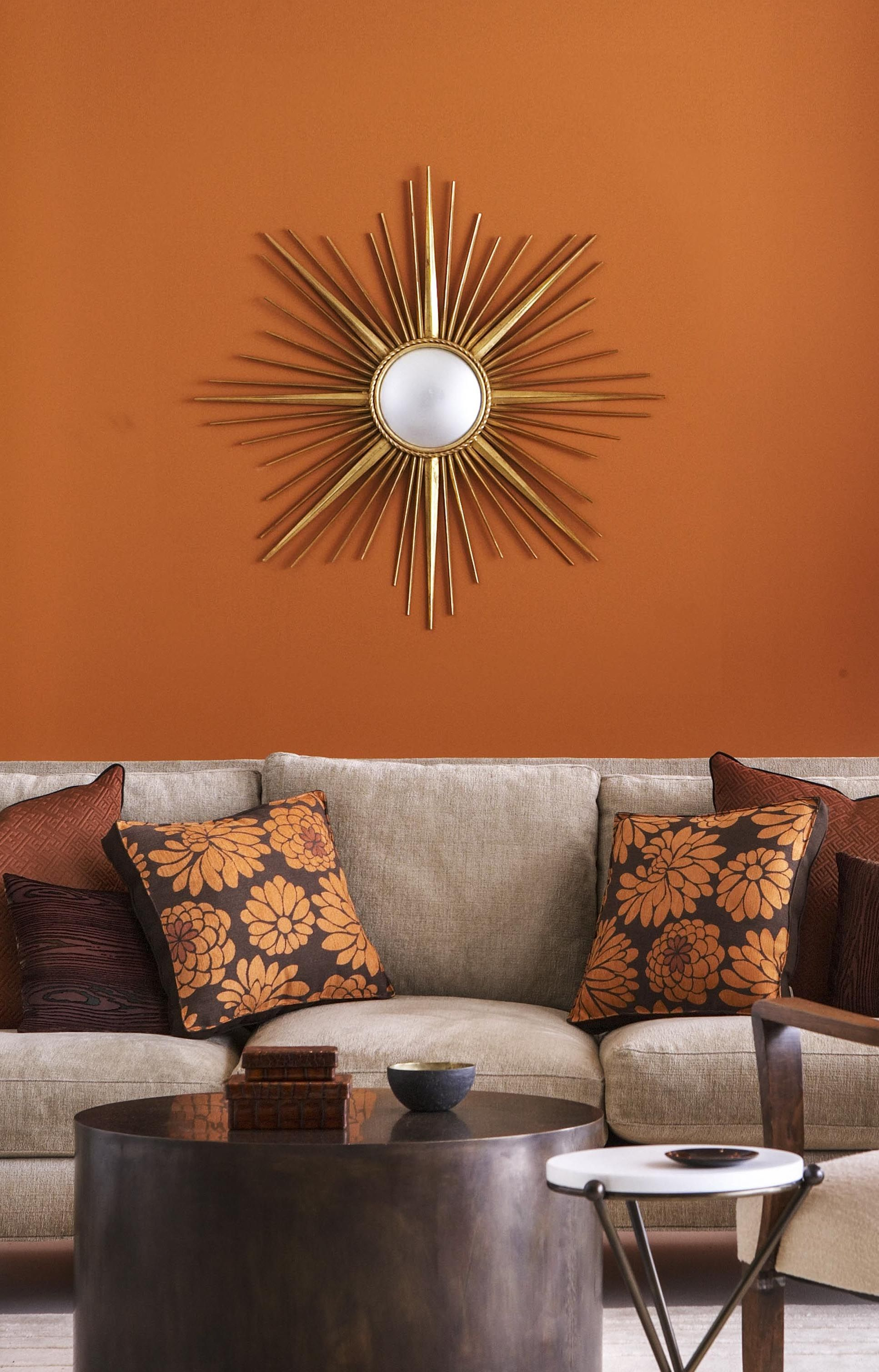 orange living room designs ideas with cherry wood floors 14 best shades of top paint colors