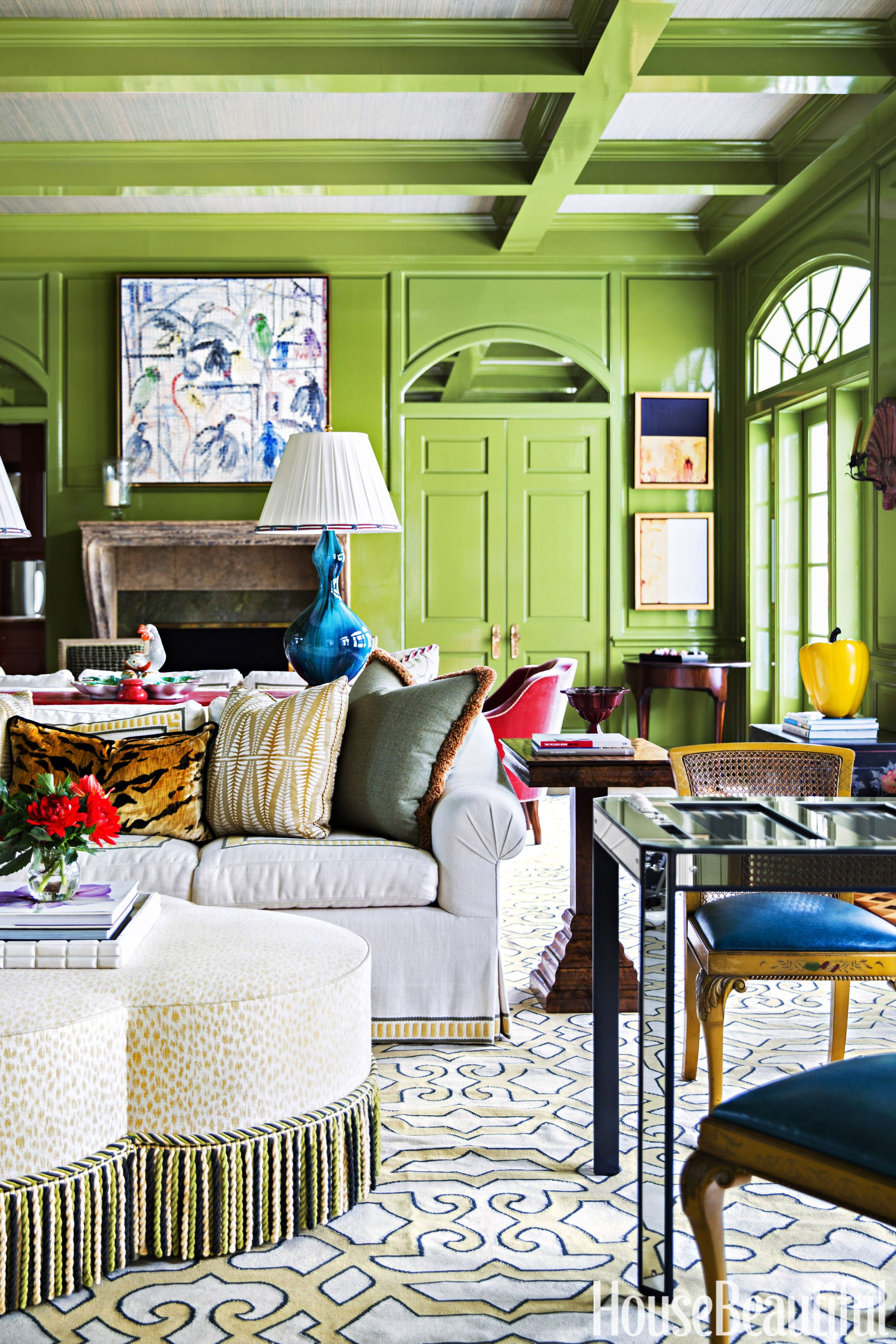 teal decorating ideas for living room accessorize grey 10 best green rooms