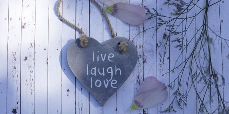 This Is the Origin of Live Laugh Love