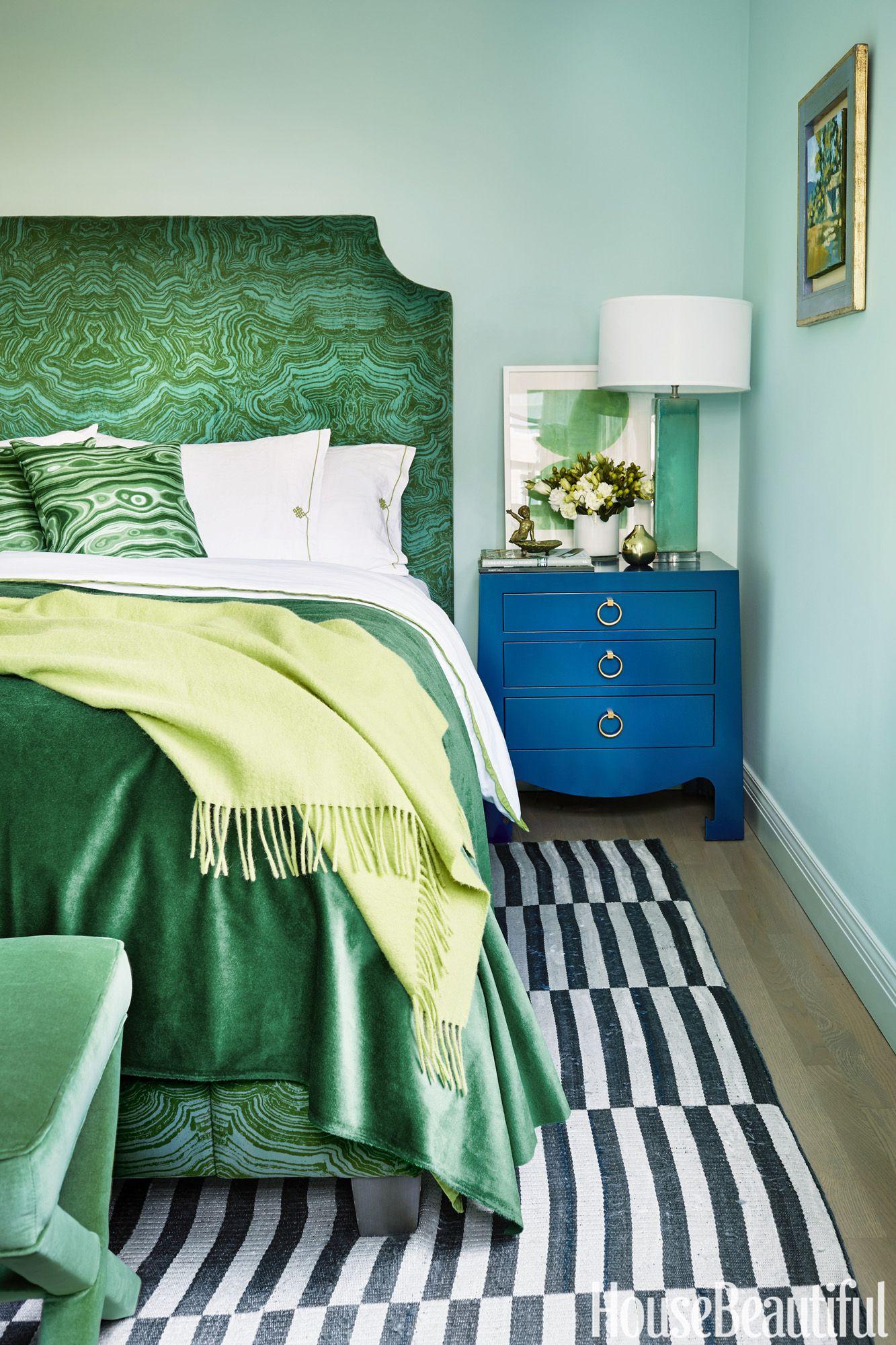 17 Dreamy Green Bedrooms