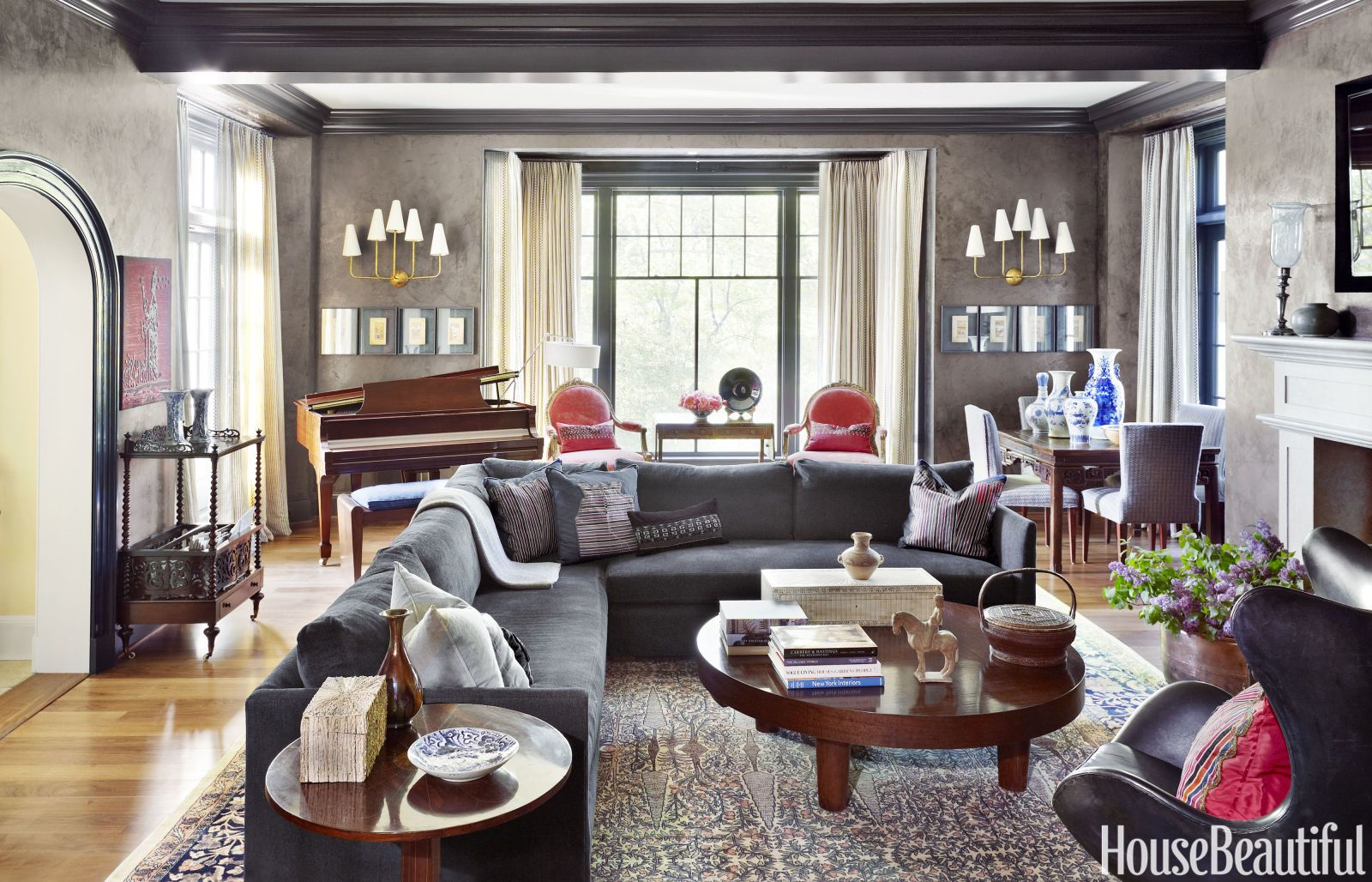 10 Stylish Gray Living Room Ideas Decorating Living Rooms With Gray