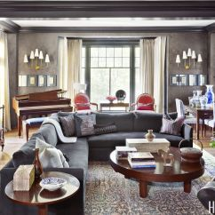 House Beautiful Living Room Ideas Decorations For Walls 10 Stylish Gray Decorating Rooms With