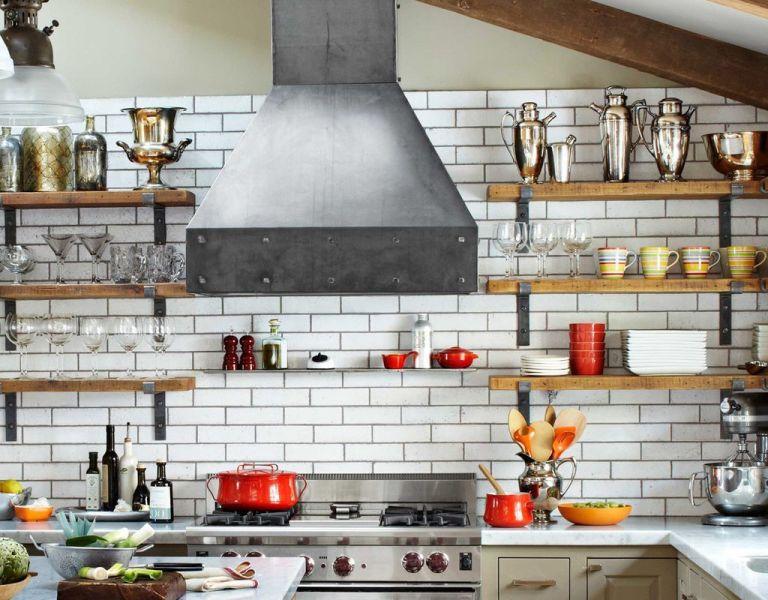 industrial kitchen hood in Steel Kitchen Design - Industrial Kitchen Design Ideas