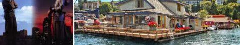 Sleepless In Seattle Houseboat Famous Movie Houseboat