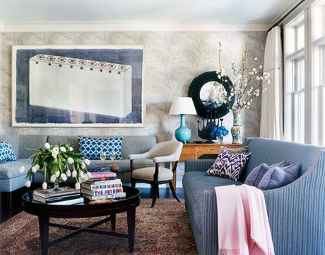 denim living room furniture grey black and purple ideas decorating with blue decor