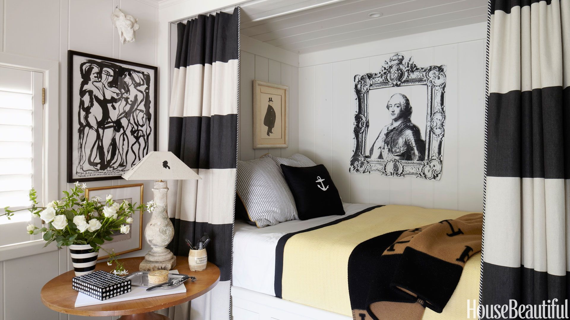 ways to decorate with curtains