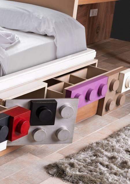 Lego Furniture  Decorating With Legos