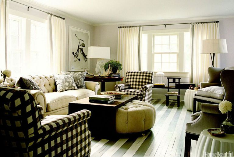 mixing furniture styles living room armchair patterns how to mix
