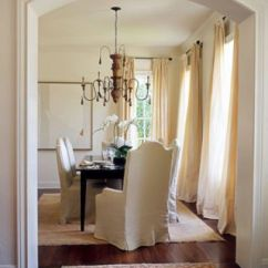 Slipcovers For Dining Room Chairs With Rounded Backs Chair Covers Essex Hire Sara Scaglione's Relaxed Design In Austin, Texas
