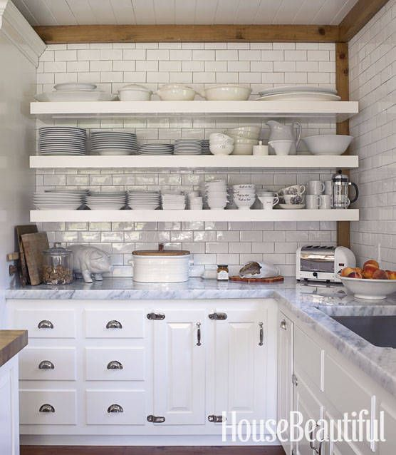 kitchen open shelves aid stand mixer cover hate shelving these 15 kitchens might convince you otherwise