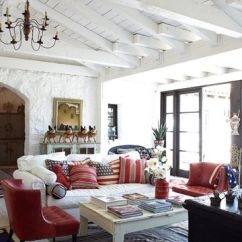 Spanish Style Living Room Furniture Wall Painting Ideas For Homes Country House Decorating