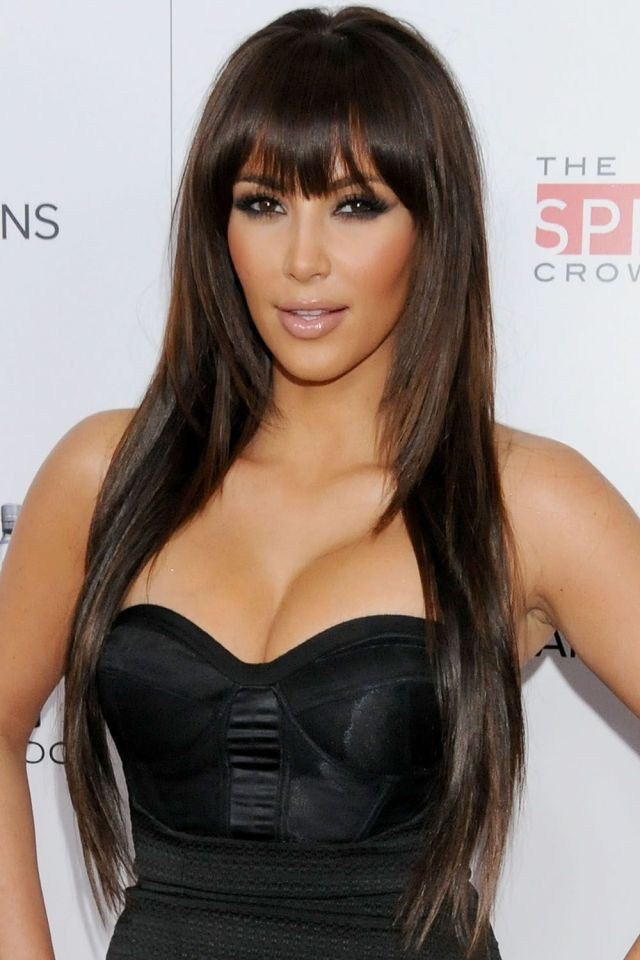 kim kardashian's makeup and hairstyles - kim kardashian