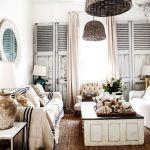 Unassumingly Elegant Shabby Chic Home Office Of New York