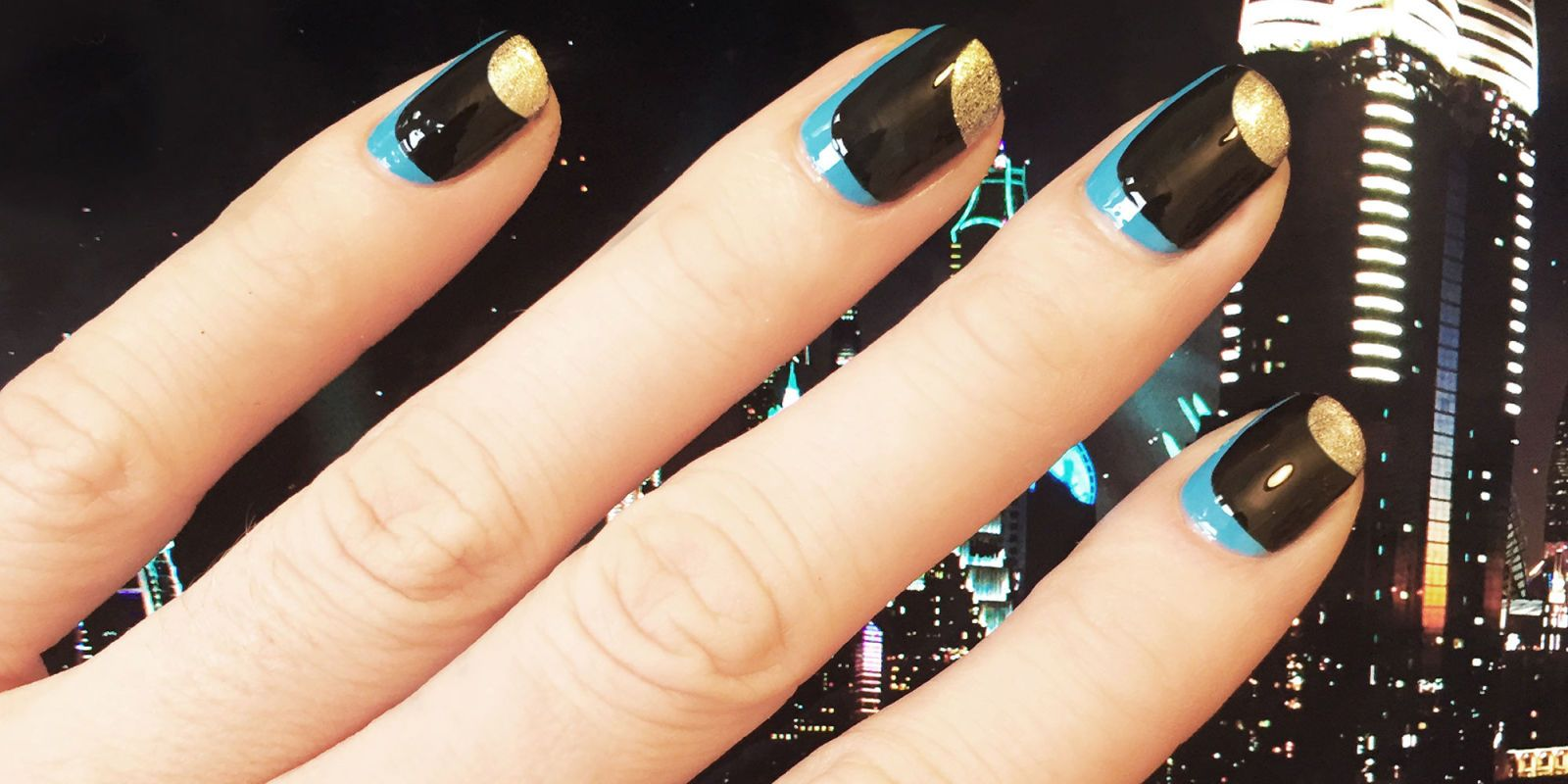 nail art - dubai meets stella