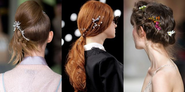 bridal hair accessories: finishing touches