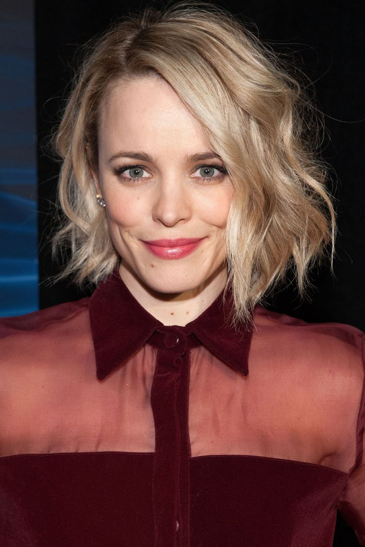 Short Hairstyle: Wavy And Short Celebrity Hairstyles. Desktop Wavy And Short Celebrity Hairstyles For Hd Pics Cute Bob Lob Haircuts Best Long Hairstyles Hbz Rachel Mcadams