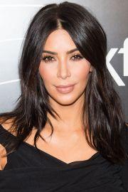 kim kardashian hairstyles fade