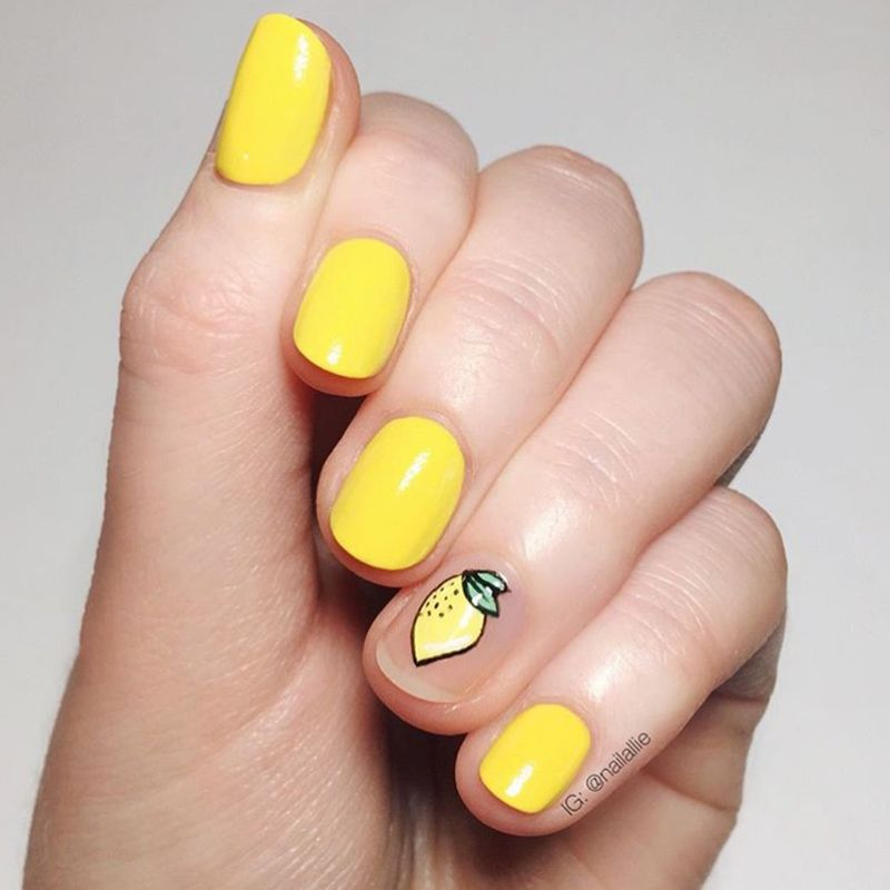 7 nail shapes - find