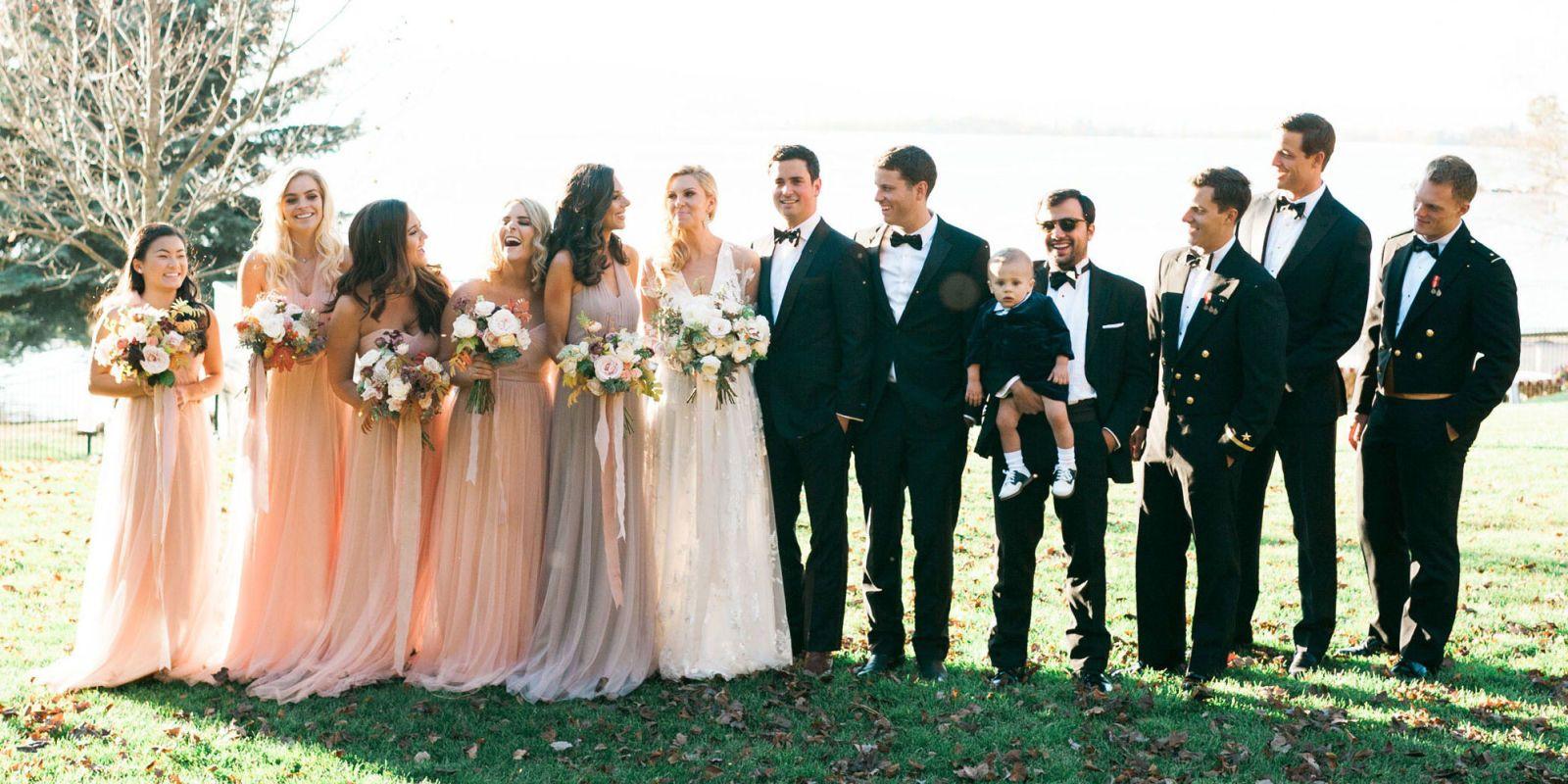 Mary Anne Huntsman And Evan Morgans Wedding In Montana