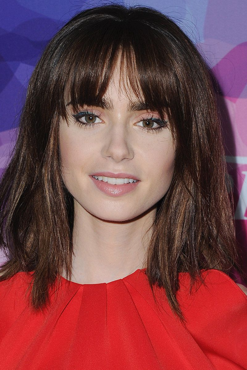 medium hairstyles - celebrities