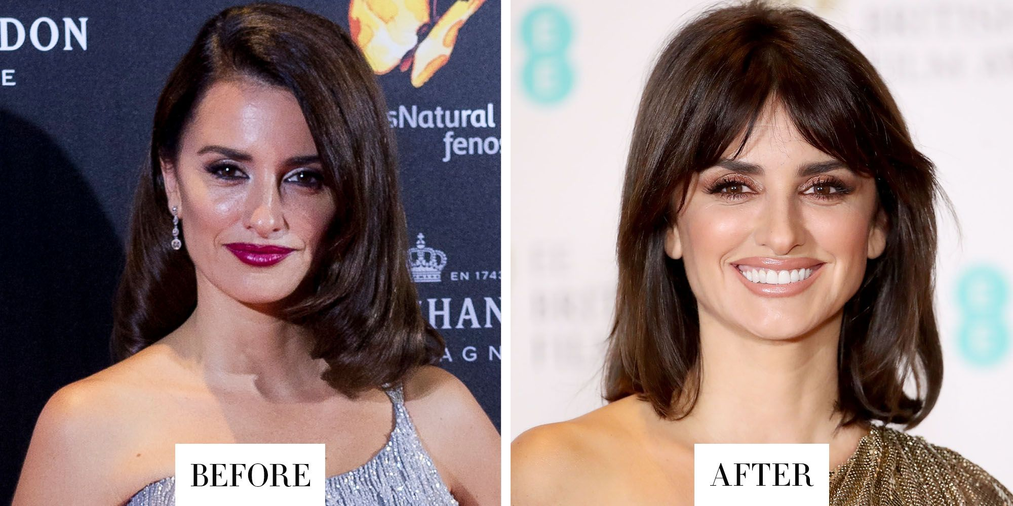 Best Celebrity Hair Transformations 2017 Celebrity Hairstyles