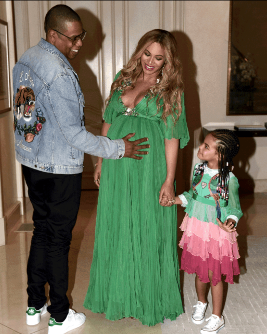 timeline of beyonce and jay z twins