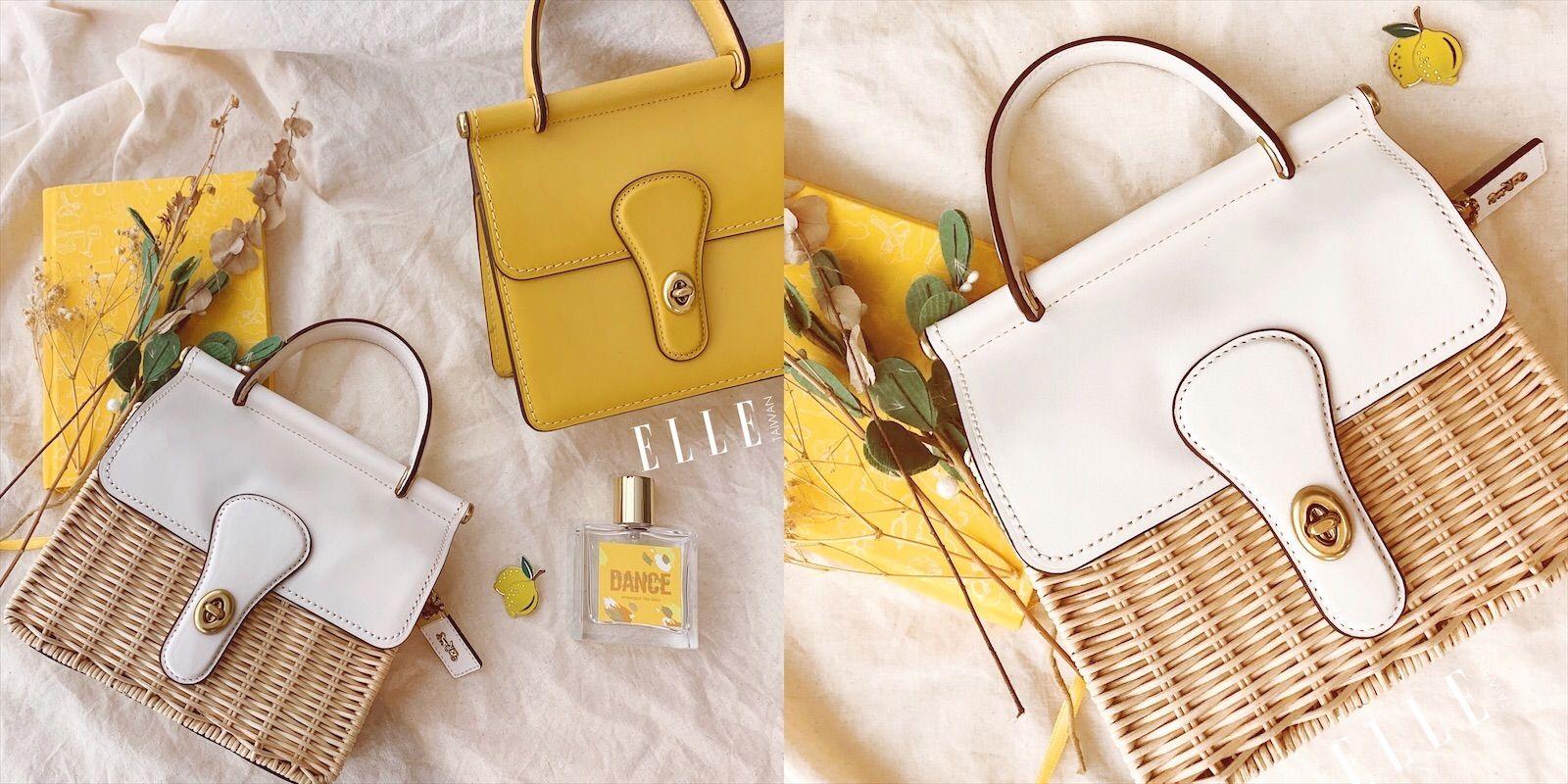 COACH 推出 Willis 18 手提包復古小包太可愛!檸檬黃,奶油白 多種粉彩配色 女生看了都心動