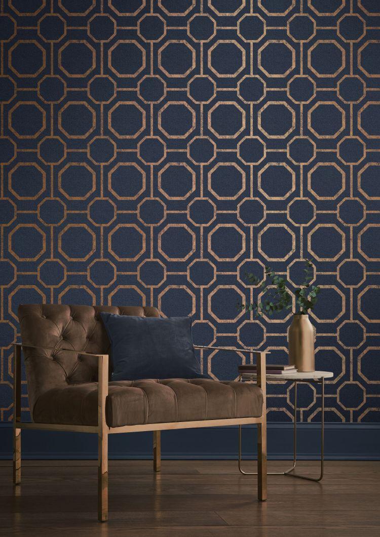 Autumn/Winter 2018 home decor/interior design trends - wallpaper