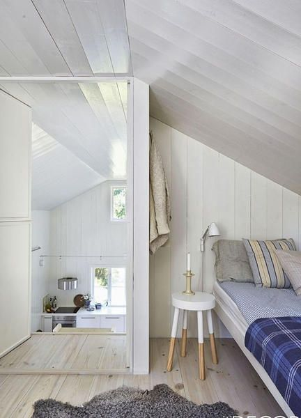 Camere da letto minimal
