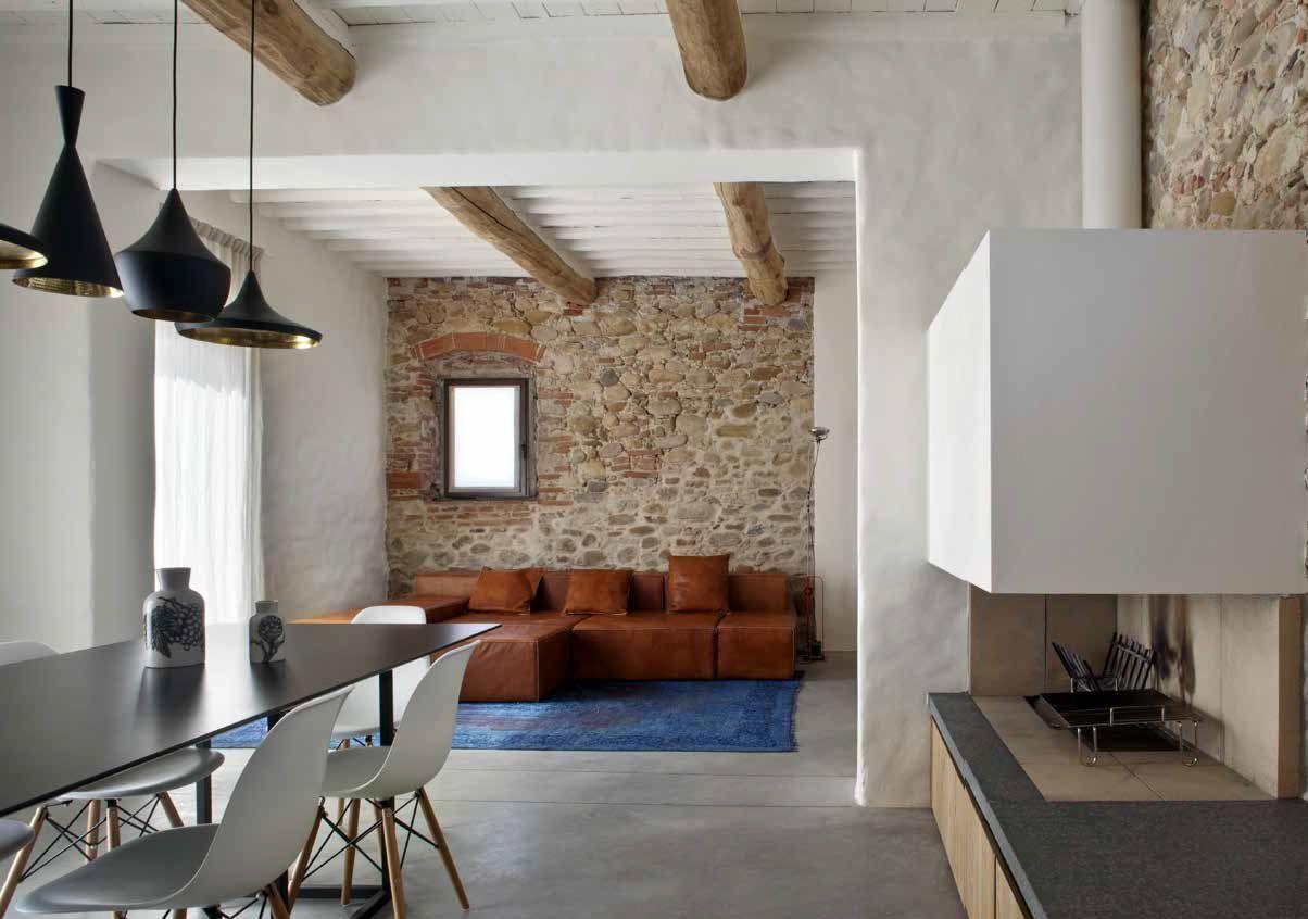 Gli stessi elementi costruttivi delle vecchie case di campagna,. Case Di Campagna Le Piu Belle In Italia