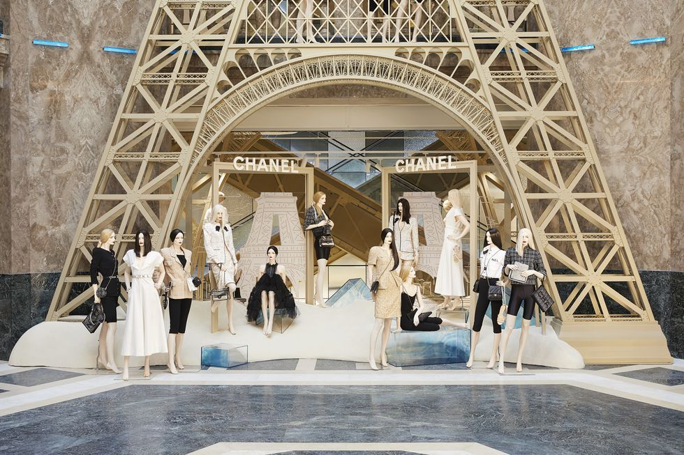 chanel store at galeries