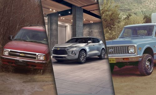small resolution of blazing saddle a visual history of the chevrolet blazer