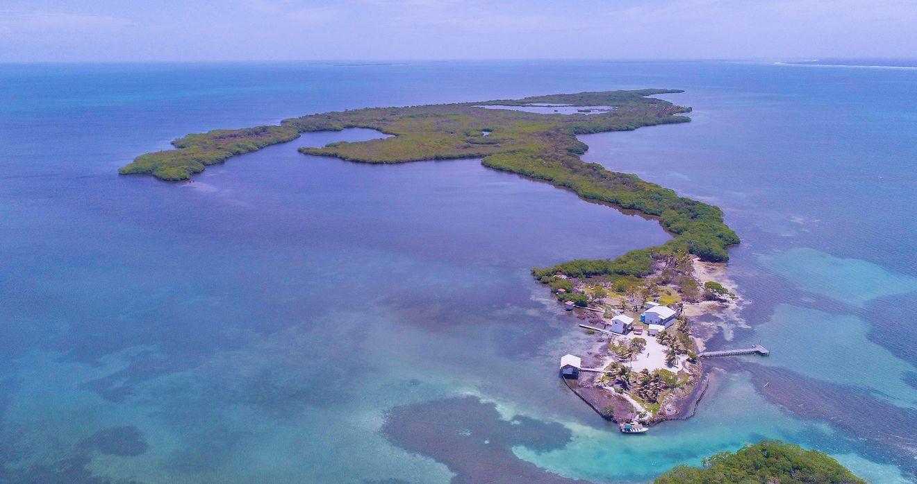 a private island in