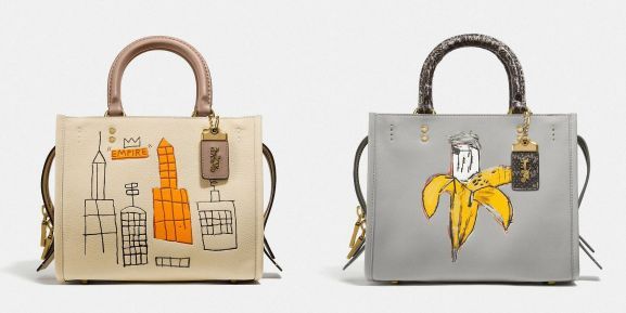 COACH 藝術家Basquiat 聯名塗鴉包開箱!多種揹法時髦又好搭竟然還有GD 刺青的「小皇冠」