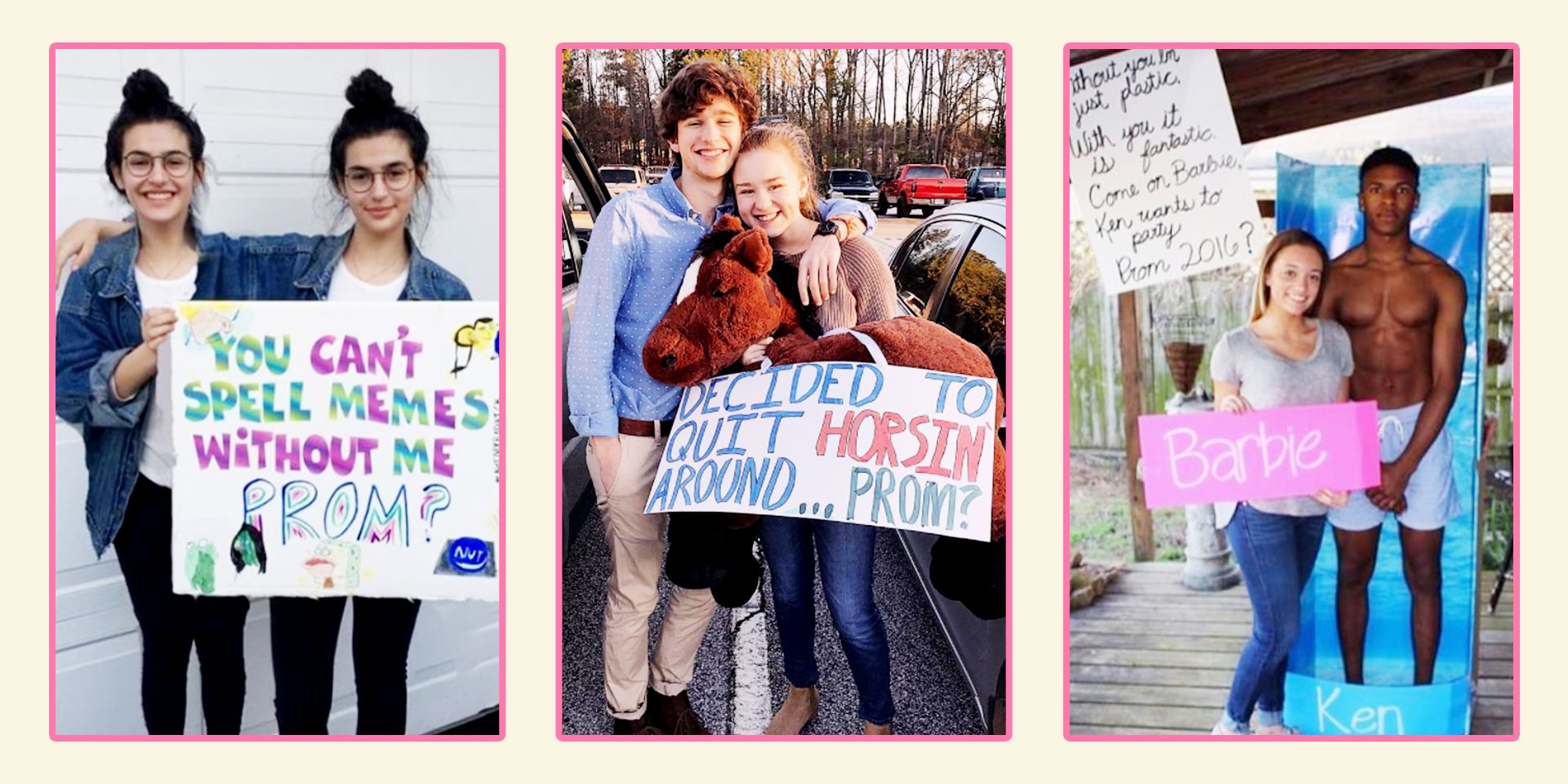 25 Punny Promposals That Are Super Cute  Best Prom Puns