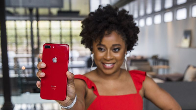 Apple and (RED) Teamed Up with Phoebe Robinson to Release the New Red iPhone 1